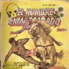 Tebeos: 'EL HOMBRE ENMASCARADO', Nº 10. TEBEOS SA. 1988.. Lote 22405830