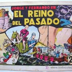Tebeos: LAS GRANDES AVENTURAS - Nº 11 - EL REINO DEL PASADO (JORGE Y FERNANDO) - HISPANO AMERICANA 1942. Lote 26945760
