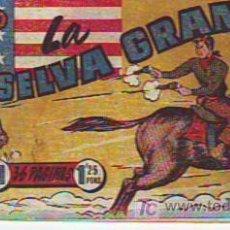 Tebeos: EL PEQUEÑO SHERIFF. HISPANO AMERICANA DE EDICIONES SA. NÚMERO 11 : LA SELVA GRANDE. Lote 20495205