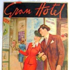 Tebeos: GRAN HOTEL, Nº 1 - EDITORIAL HISPANO AMERICANA 1947. Lote 5744855
