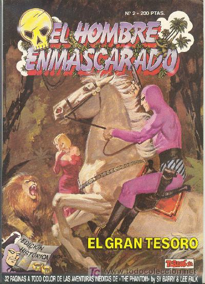 EL HOMBRE ENMASCARADO EDICION HISTORICA Nº 2 (Tebeos y Comics - Hispano Americana - Hombre Enmascarado)