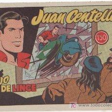 Tebeos: JUAN CENTELLA Nº 19, HISPANO AMERICANA 1955 LA MAS DIFICIL DE TODAS, ESCELENTE ESTADO. Lote 18215579