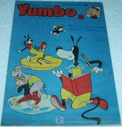 YUMBO Nº 384 - HISPANO AMERICANA - ORIGINAL 1953 - IMPORTANTE LEER TODO (Tebeos y Comics - Hispano Americana - Yumbo)