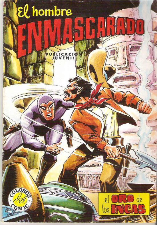 EL HOMBRE ENMASCARADO - EL ORO DE LOS INCAS *** NUM 50 1982 (Tebeos y Comics - Hispano Americana - Hombre Enmascarado)