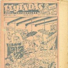 Tebeos: LEYENDAS INFANTILES Nº 5 UNA JOYA DE LOS AÑOS 40. Lote 21601727