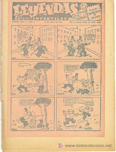 LEYENDAS INFANTILES Nº 6 UNA JOYA DE LOS AÑOS 40 (Tebeos y Comics - Hispano Americana - Leyendas Infantiles)