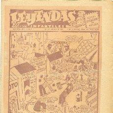 Tebeos: LEYENDAS INFANTILES Nº 7 UNA JOYA DE LOS AÑOS 40. Lote 27250155