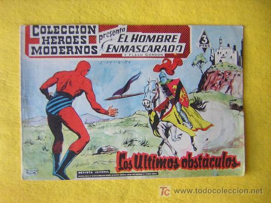 EL HOMBRE ENMASCARADO Nº 32 DE 1.958 (Tebeos y Comics - Hispano Americana - Hombre Enmascarado)