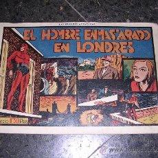 Tebeos: (M-1) EL HOMBRE ENMASCARADO EN LONDRES, EDT, H.AMERICANA, BARCELONA AÑOS 40. Lote 9351823