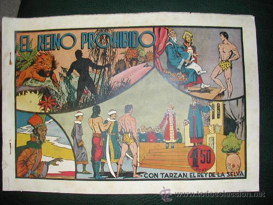 TARZAN. HISPANO AMERICANA. EL REINO PROHIBIDO. (Tebeos y Comics - Hispano Americana - Tarzán)