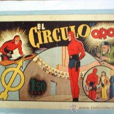 Tebeos: EL CIRCULO DEORO-EL HOMBRE ENMASCARADO N.21--1941- HISPANO AMERICANA. Lote 26427323