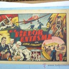 Tebeos: EL AVIADOR FANTASMA-JORGE Y FERNANDO -HISPANO AMERICANA. Lote 22120788