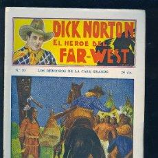 Tebeos: DICK NORTON. Nº 30. EL HEROE DEL FAR - WEST. .. Lote 8842535