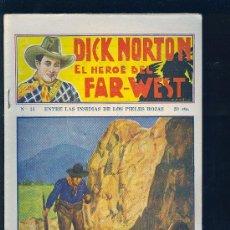 Tebeos: DICK NORTON. Nº 35. EL HEROE DEL FAR - WEST. .. Lote 8842545