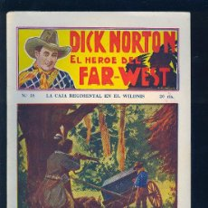 Tebeos: DICK NORTON. Nº 38. EL HEROE DEL FAR - WEST. .. Lote 8842550