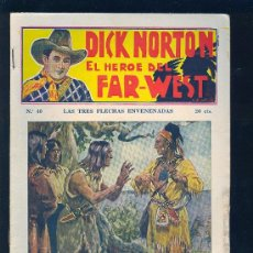 Tebeos: DICK NORTON. Nº 40. EL HEROE DEL FAR - WEST. .. Lote 8842560