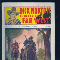 Tebeos: DICK NORTON. Nº 43. EL HEROE DEL FAR - WEST. .. Lote 8842598