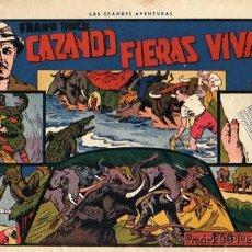 Tebeos: CAZANADO FIERAS VIVAS Nº 1 DE LA COLECCION . Lote 8923585