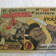 Tebeos: EL CAPITAN MARVEL - EL TIMO DEL ELEFANTE (NUMERO 58). HISPANO AMERICANA. 1947. Lote 9032641