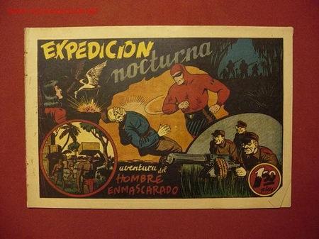EL HOMBRE ENMASCARADO (H. AMERICANA - 1941) (Tebeos y Comics - Hispano Americana - Hombre Enmascarado)