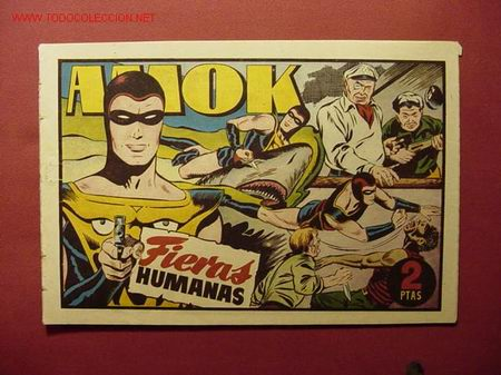 AMOK (H. AMERICANA - 1947). (Tebeos y Comics - Hispano Americana - Otros)