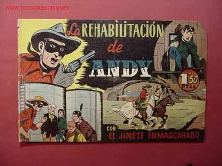 EL JINETE ENMASCARADO (H. AMERICANA - 1943). (Tebeos y Comics - Hispano Americana - Otros)
