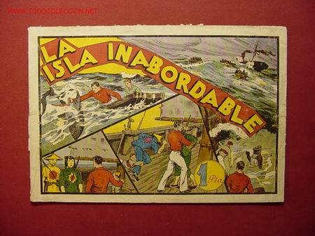 LA ISLA INABORDABLE (A.P.J) (H. AMERICANA) (Tebeos y Comics - Hispano Americana - Otros)
