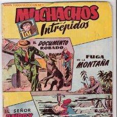 Tebeos: MUCHACHOS INTREPIDOS - HISPANO AMERICANA - Nº 4 ORIGINAL 1956. Lote 13707814