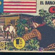 Tebeos: EL PEQUEÑO SHERIFF Nº136- EDICIONES HISPANO AMERICANA S.A- EL BANCO DE CHESTER. Lote 8424640