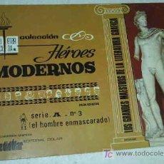 Tebeos: HEROES MODERNOS ALBUM DE LUJO SERIE A Nº 3 HOMBRE ENMASCARADO. Lote 22137470