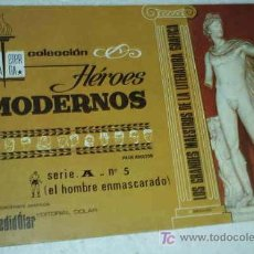 Tebeos: HEROES MODERNOS ALBUM DE LUJO SERIE A Nº 5 HOMBRE ENMASCARADO. Lote 22137471
