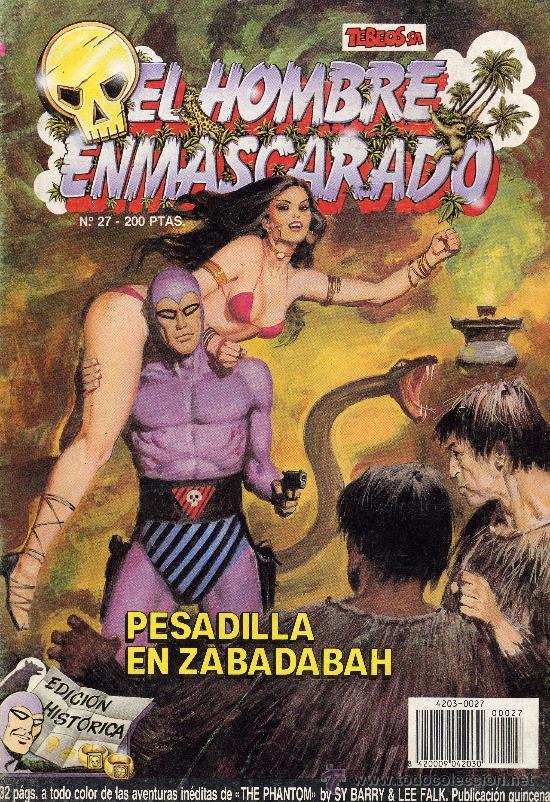 EL HOMBRE ENMASCARADO Nº27 (Tebeos y Comics - Hispano Americana - Hombre Enmascarado)