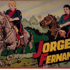 Tebeos: JORGE Y FERNANDO. HISPANO AMERICANA. ÁLBUM ROJO. Nº 424. Lote 23154608