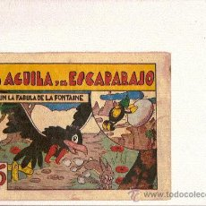 BDs: EL AGUILA Y EL ESCARABAJO ....DE LA I.G.A. DE HISPANO AMERICANA. Lote 24117843