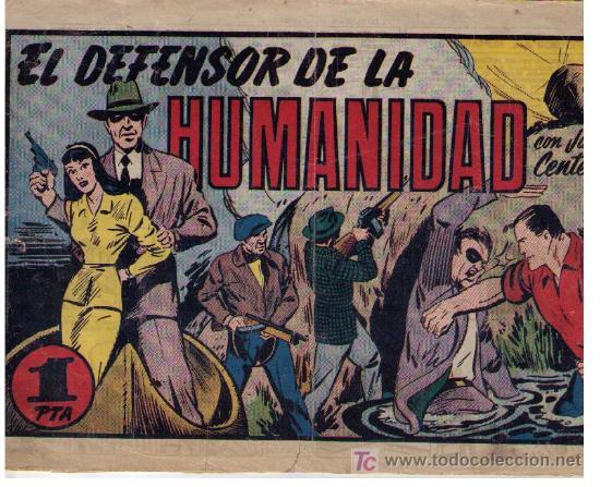 JUAN CENTELLA. H. AMERICANA. EL DEFENSOR DE LA HUMANIDAD (Tebeos y Comics - Hispano Americana - Juan Centella)