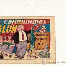 BDs: POPEYE LOS COMPRIMIDOS DE PILON ....DE LA I.G.A. DE HISPANO AMERICANA. Lote 23387665