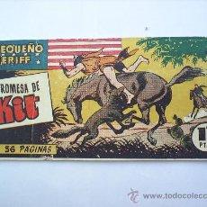 Tebeos: EL PEQUEÑO SHERIFF--N.121-HISPANO AMERICANA--ORIGINAL. Lote 13229307