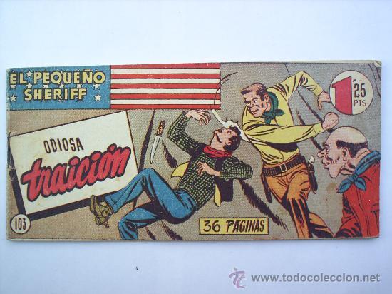 EL PEQUEÑO SHERIFF-N.103---HISPANO AMERICANA-ORIGINAL (Tebeos y Comics - Hispano Americana - Otros)