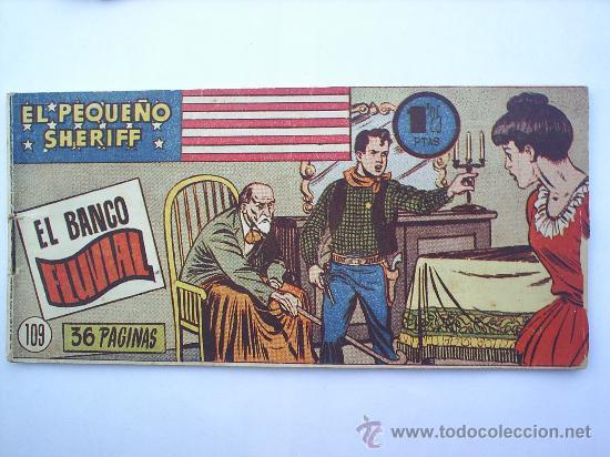 EL PEQUEÑO SHERIFF--N.109 -HISPANO AMERICANA--ORIGINAL (Tebeos y Comics - Hispano Americana - Otros)