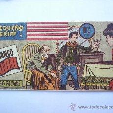 Tebeos: EL PEQUEÑO SHERIFF--N.109 -HISPANO AMERICANA--ORIGINAL. Lote 13058903