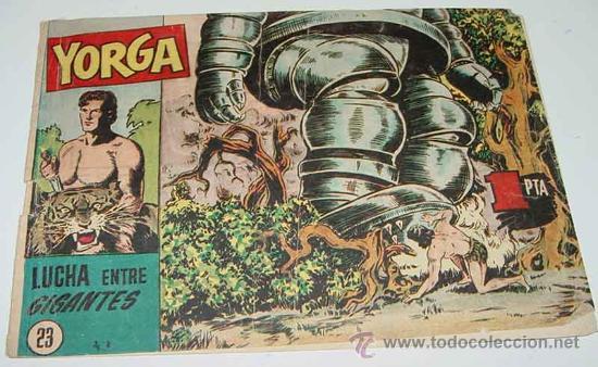 YORGA HISPANO AMERICANA 23 - HISPANO AMERICANA (Tebeos y Comics - Hispano Americana - Otros)