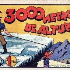 Tebeos: JUAN CENTELLA - A 3000 METROS DE ALTURA - EDITORIAL HISPANOAMERICANA. Lote 26548065