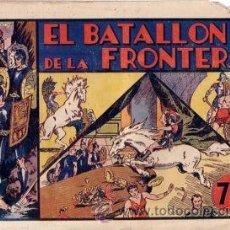 Tebeos: CARLOS EL INTREPIDO Nº 5 BATALLON DE LA FRONTERA ORIGINAL AÑOS 40. Lote 24334914