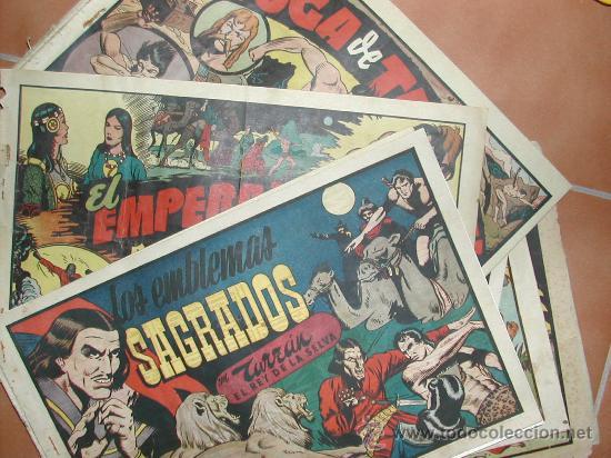 TARZAN HISPANO AMERICANA LOTE DE 9. TAMBIEN SUELTOS A 39 EUROS (Tebeos y Comics - Hispano Americana - Tarzán)