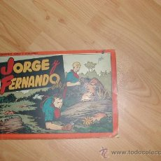 Tebeos: ALBUM JORGE Y FERNANDO Nº 1 HISPANO AMERICANA. ORIGINAL. Lote 26618811