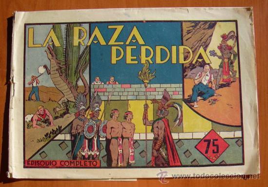 CARLOS EL INTREPIDO - LA RAZA PERDIDA - EDITORIAL HISPANO AMERICANA (Tebeos y Comics - Hispano Americana - Carlos el Intrépido)
