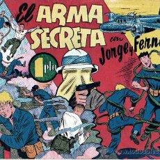 Tebeos: COMIC ORIGINAL JORGE Y FERNANDO Nº 62 COMO NUEVO. Lote 11960041