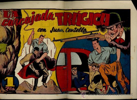 "JUAN CENTELLA ""LA CARCAJADA TRAGICA"" (Tebeos y Comics - Hispano Americana - Juan Centella)"