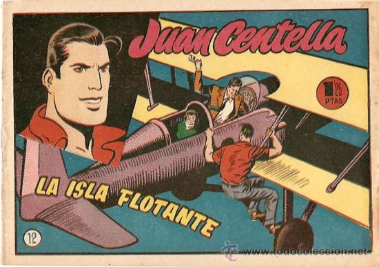 COMIC JUAN CENTELLA Nº 12 (Tebeos y Comics - Hispano Americana - Juan Centella)