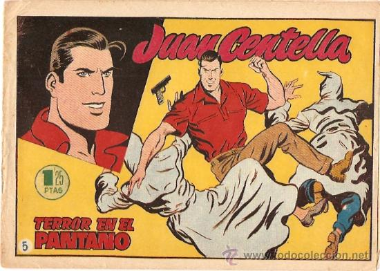 COMIC JUAN CENTELLA Nº 5 (Tebeos y Comics - Hispano Americana - Juan Centella)